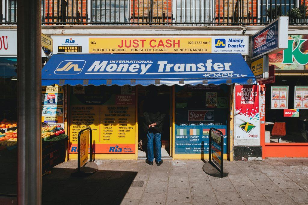 sending cash to Africa