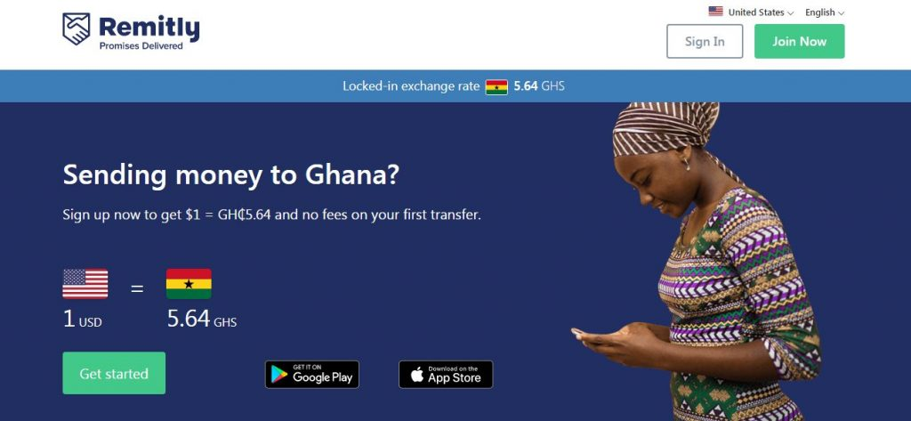 send money to Ghana from the United States