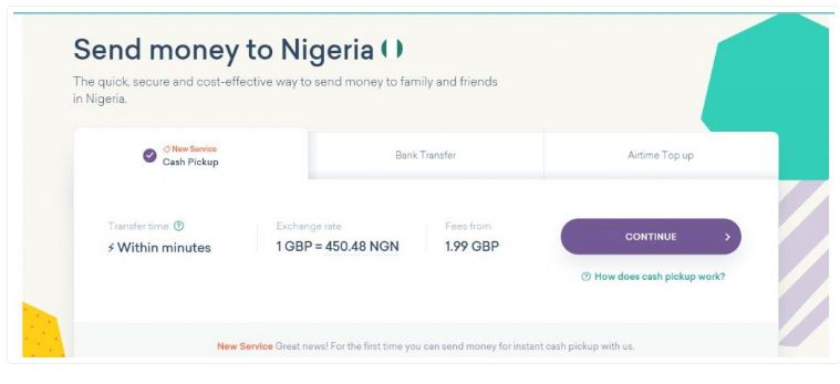 worldremit to nigeria
