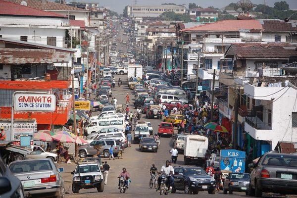 how to send money to liberia